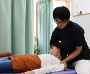 神戸市須磨区はくの接骨院 首の治療