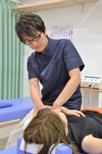 須磨区鷹取はくの接骨院 肩こり 治療