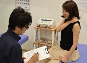 神戸市須磨区はくの接骨院 肩こり 問診