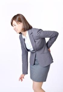 神戸市須磨区はくの接骨院 ぎっくり腰 女性