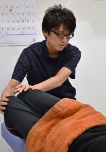 須磨区鷹取はくの接骨院 腰痛治療