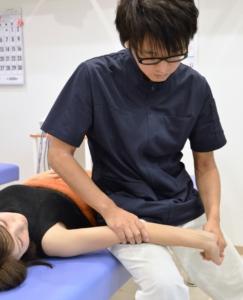 須磨区鷹取はくの接骨院 腕の治療