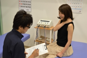 神戸市須磨区はくの接骨院 問診