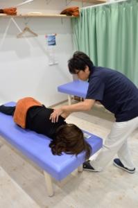 須磨区鷹取はくの接骨院 肩の治療