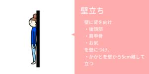 神戸市須磨区はくの接骨院 姿勢チェック